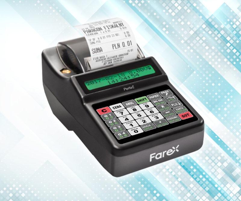 """Co zmienił """"Plus"""" w nazwie kasy fiskalnej Farex Perła E?"""